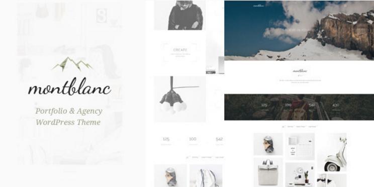 Montblanc - Minimal Creative WP Theme