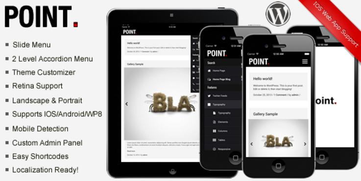 Point Premium Modern Mobile Theme