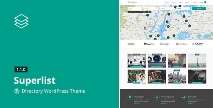 Superlist - Directory WordPress Theme