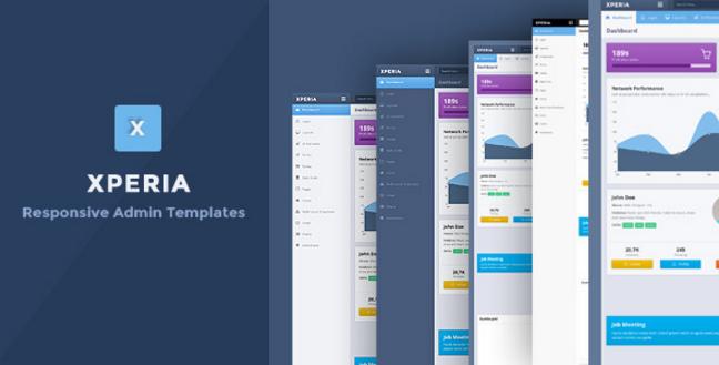 Xperia - Bootstrap 3 Responsive Admin Template