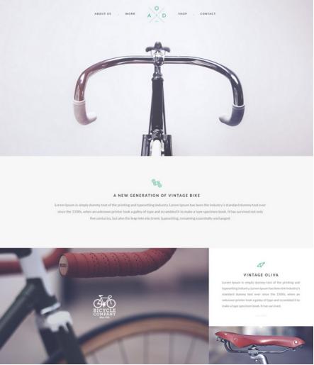 Bicycle Flat PSD