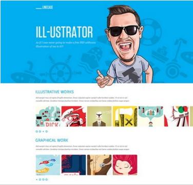 Clean Free PSD Website Design