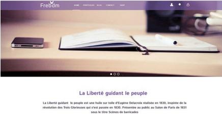 Freedom PSD Website Template
