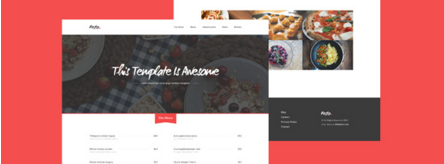 Resto – Free Beautiful Restaurant PSD