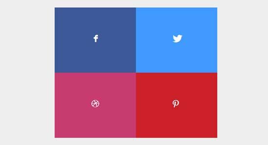 CSS3 Social Block