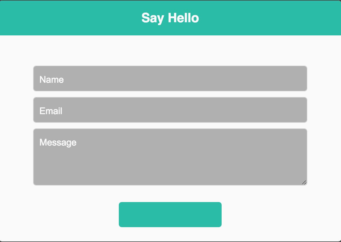 Plain Contact Form