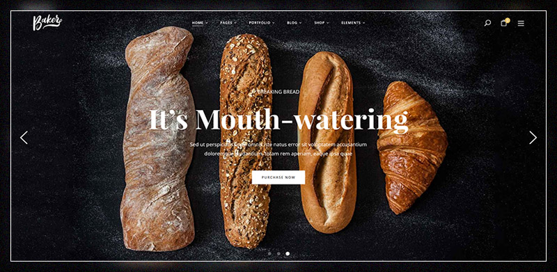 Sweet Cake – Bakery Yogurt Chocolate & Coffee Shop WordPress Theme