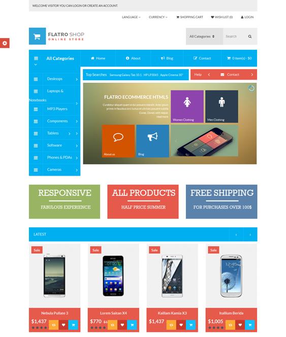 CFlatro – Multipurpose Bootstrap Opencart Theme