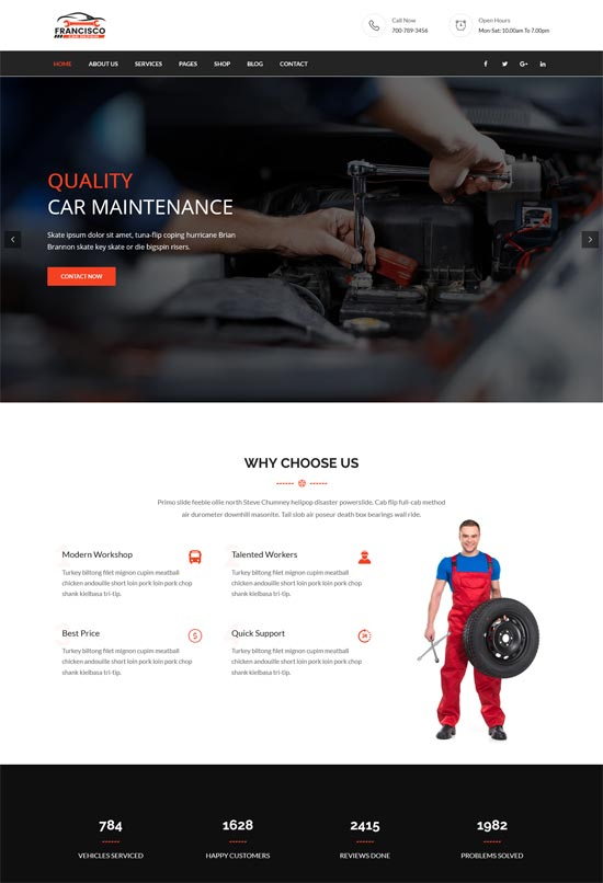 Francisco – Car Repair
