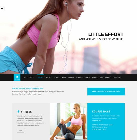 LaFORZA – Sport, Fitness & Yoga HTML