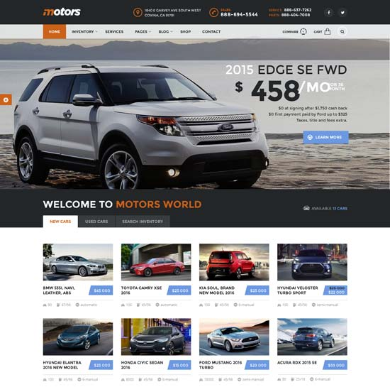 Grey-Car-Insurance-WordPress-Theme