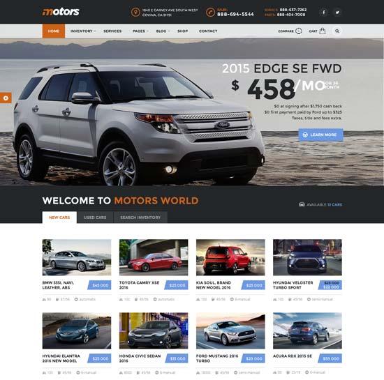 Motors – Car Dealership