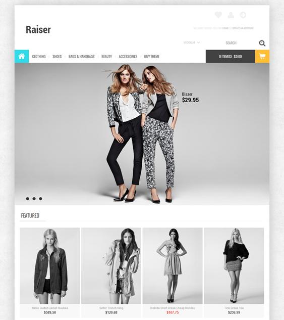 Raiser – Premium OpenCart Theme