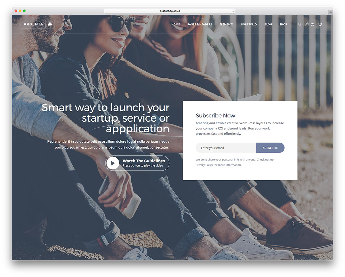 20+ IT Tech Startups and Web Companies WordPress Themes