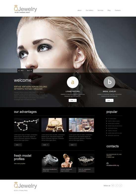 25 elegant jewellery design shop wordpress themes