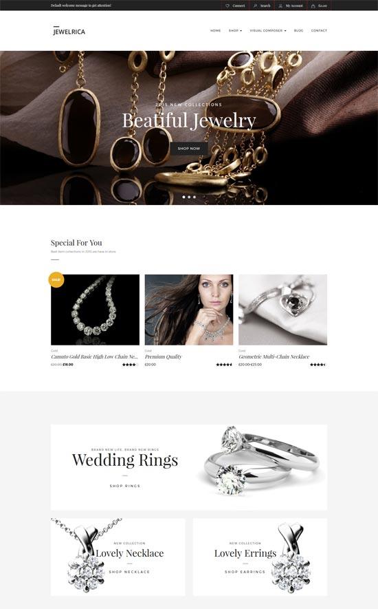 Jewelrica eCommerce