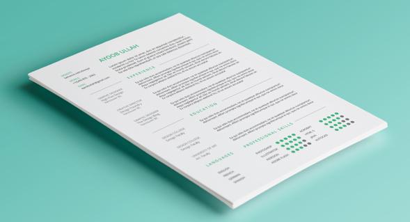 CV – Free Resume Template