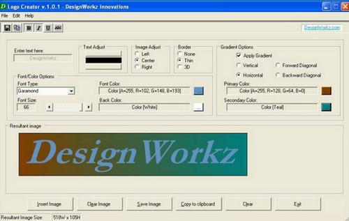 DesignWorkz Logo Creator