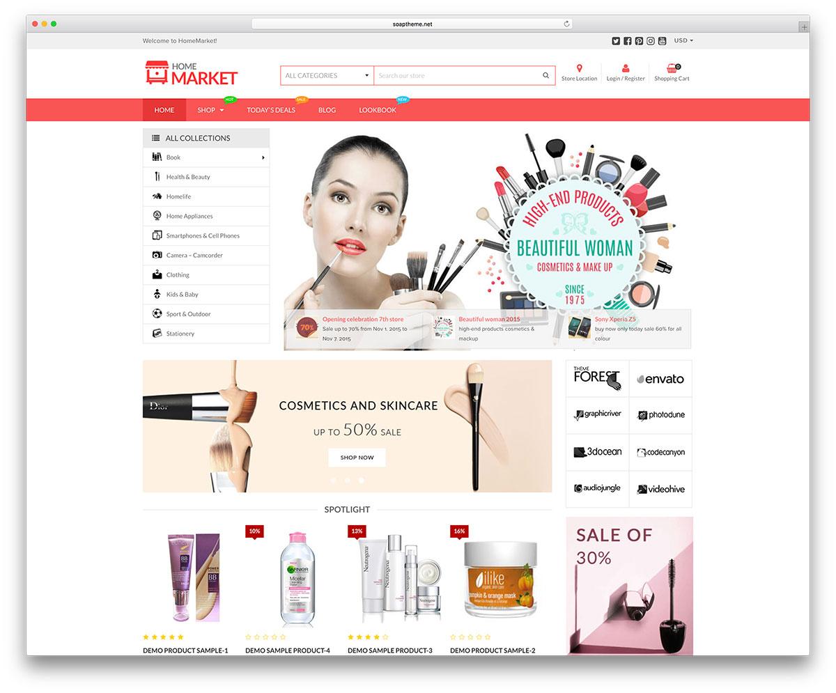 30 New Ecommerce Wordpress Themes For Woocommerce Estore